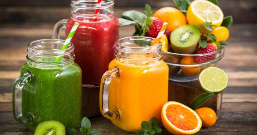 Los zumos naturales y procesados