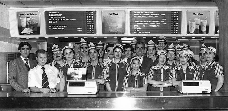 McDonald's: recuerdos privados de una de sus primeras empleadas