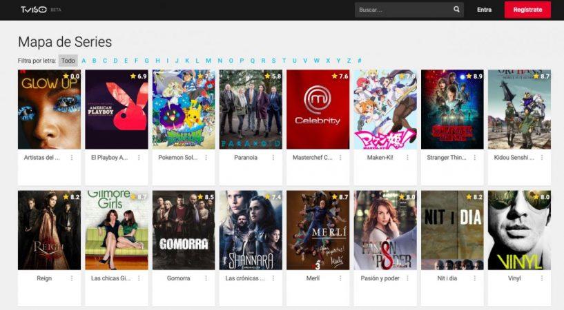 Tviso ¿Ayuda saber si las películas o series son de Netflix o HBO?