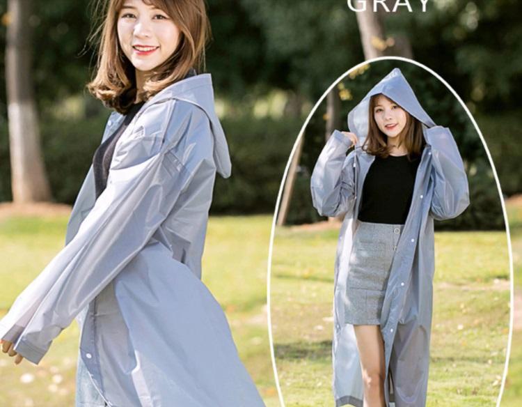 abrigo semitransparente