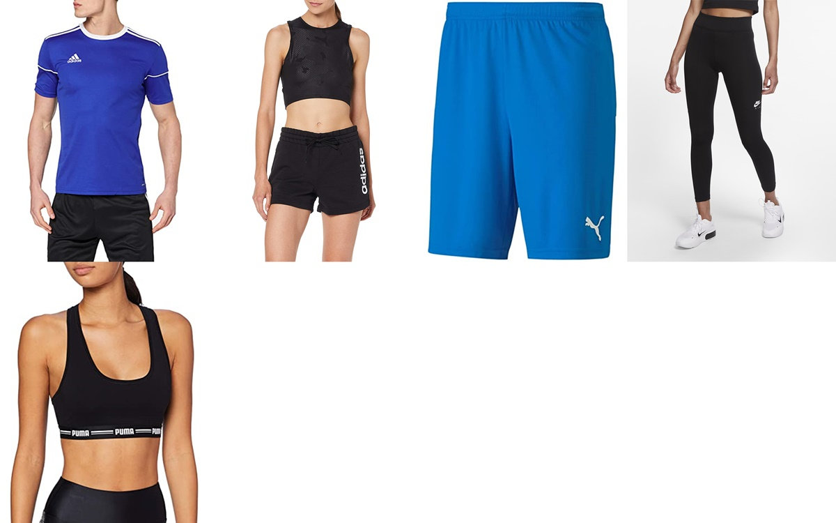 Puma, Adidas y Nike: ropa deportiva de verano en Amazon por un precio increíble