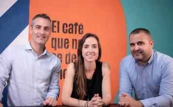 Los tres socios principales de Incapto Coffee