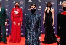 El de Megan Montaner y otros vestidos de infarto en los Premios Feroz