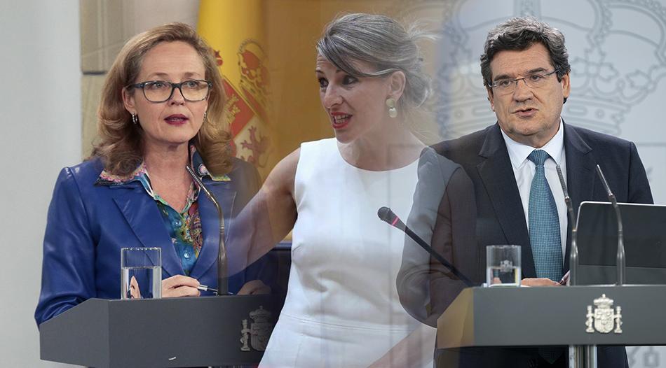 Calviño, Díaz y Escrivá: la santísima trinidad para reformar España