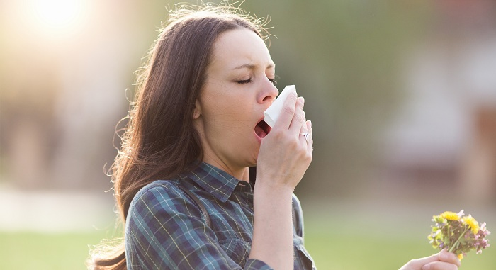sintomas alergia