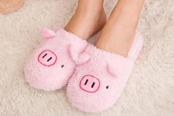 zapatillas peluche