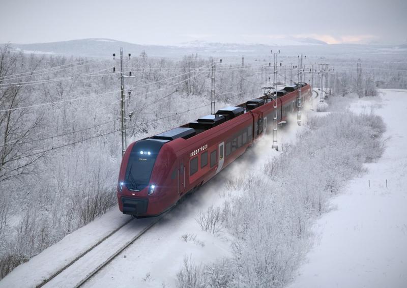 CAF se adjudica un contrato de 250 M€ para el suministro de trenes en Suecia
