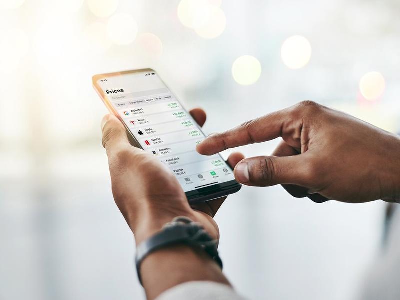 Bitpanda permitirá a sus usuarios invertir en acciones fraccionadas de grandes tecnológicas