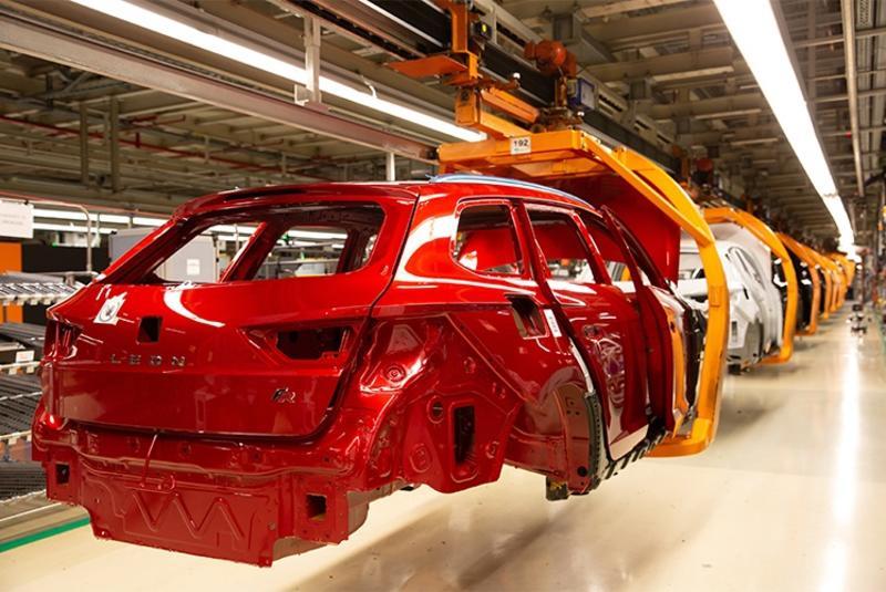 La producción de vehículos en España sube un 57% en marzo