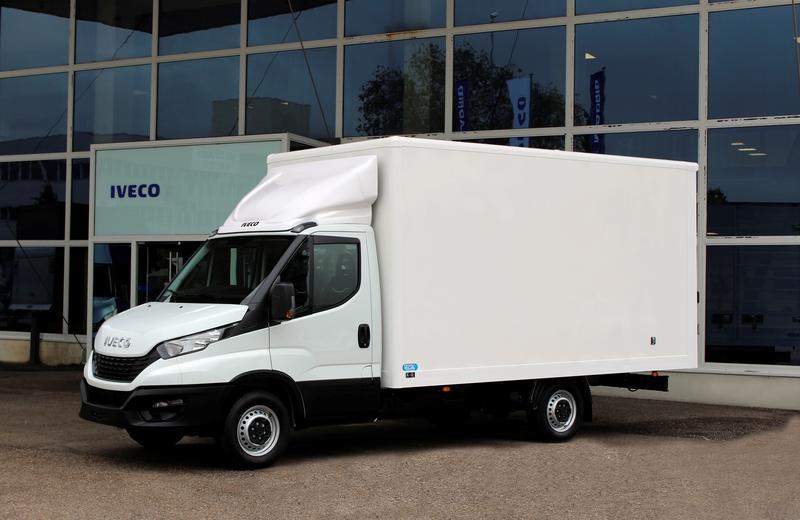 Iveco lanza la Daily Attack Box, pensada para el sector de la paquetería