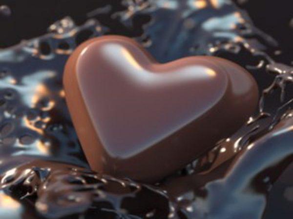 Ayuda contra las enfermedades cardiacas chocolate