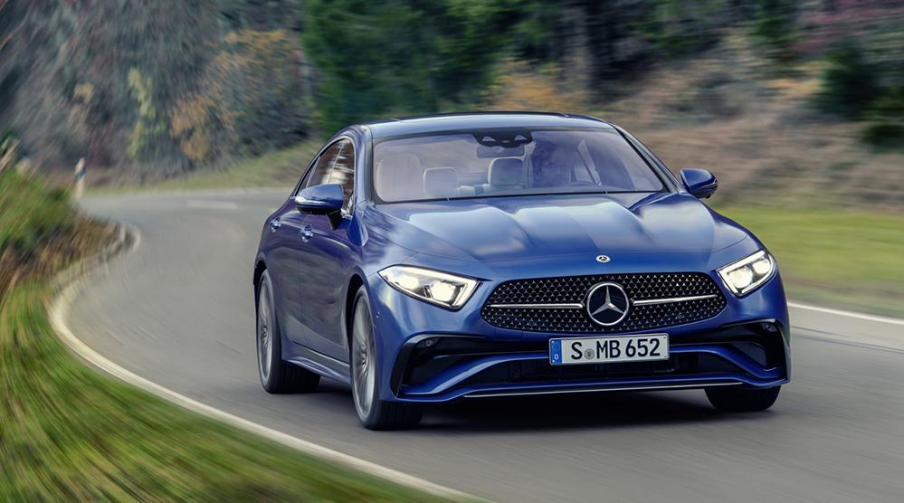 El CLS de Mercedes se hace más atractivo y deportivo