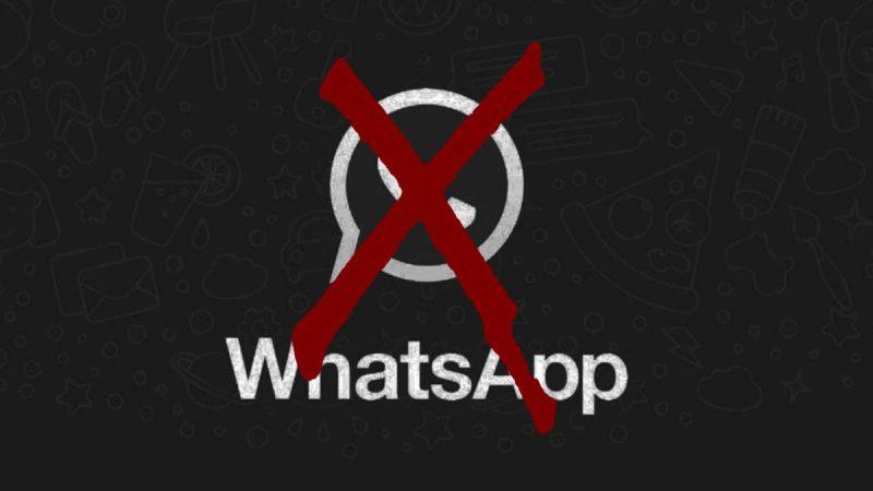 ¿Cuáles son los tipos de baneo que realiza WhatsApp?
