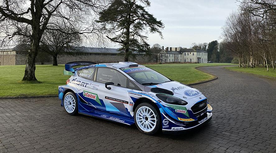 Electricidad en los motores Ford para el Mundial de Rallyes de 2022