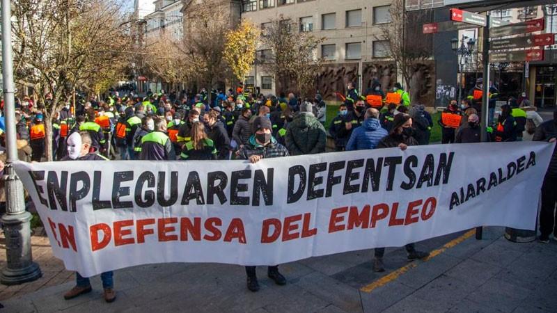 """Trabajadores de Tubacex: Cesará la """"lucha cuando encima de la mesa no haya ni un solo despido"""""""