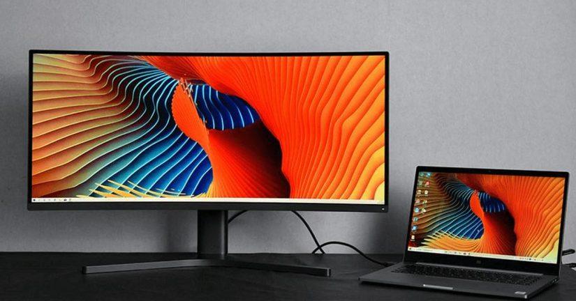 "monitores Xiaomi Mi Curved Gaming Monitor de 34"""