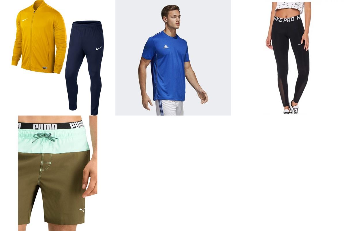Nike, Adidas y Puma: mejores ofertas en chándals, bañadores y ropa deportiva en Amazon