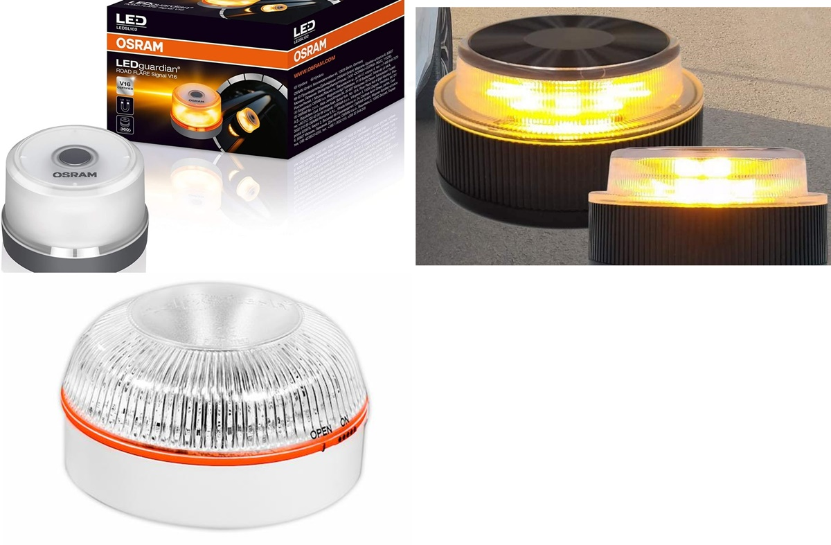 Amazon: 10 chollos en luces de advertencia LED OSRAM para cumplir con los requisitos de la DGT
