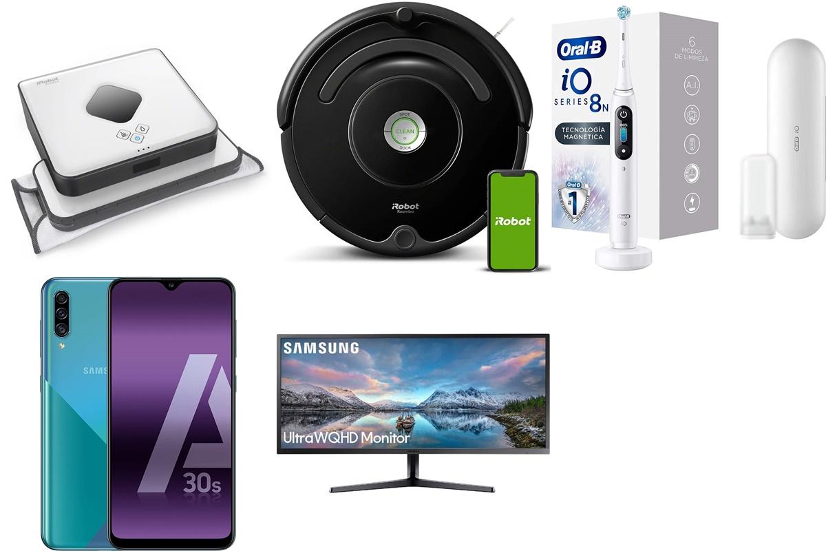 Oral B, Samsung y iRobot: 10 ofertas increíbles que no puedes dejar escapar HOY EN AMAZON