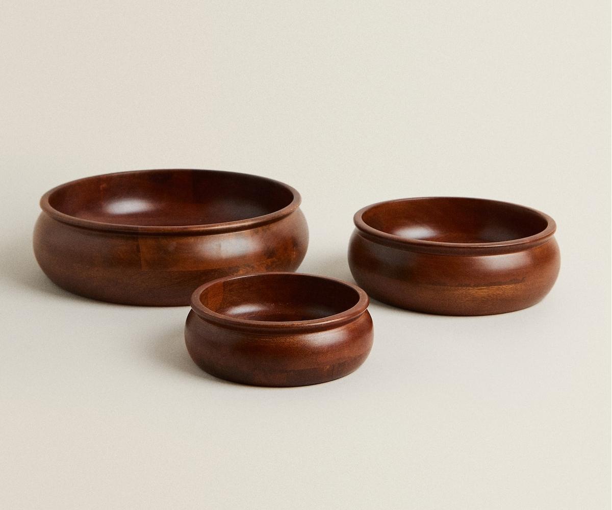 bowl madera Zara Home