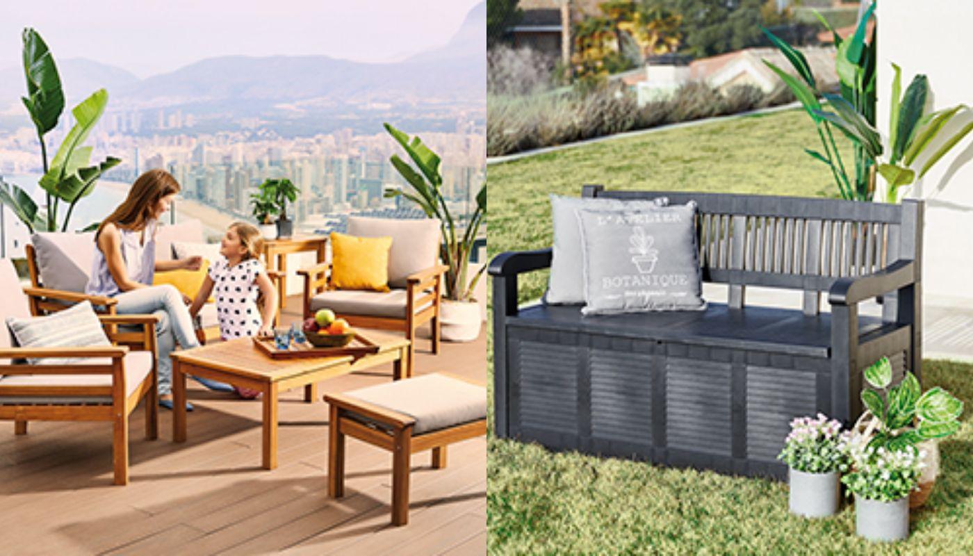 Carrefour: productos tirados de precio para decorar tu terraza
