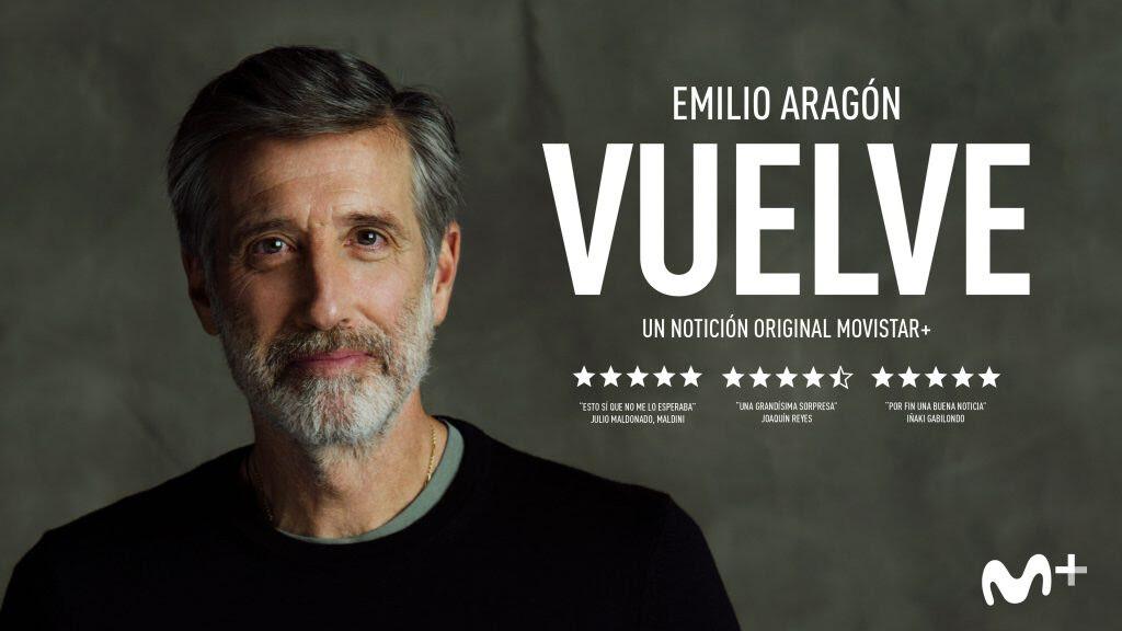 Movistar rescata su apuesta más arriesgada y noventera: Emilio Aragón