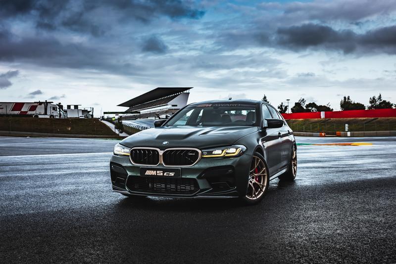 BMW lanza el nuevo M5 CS, el más potente de la historia