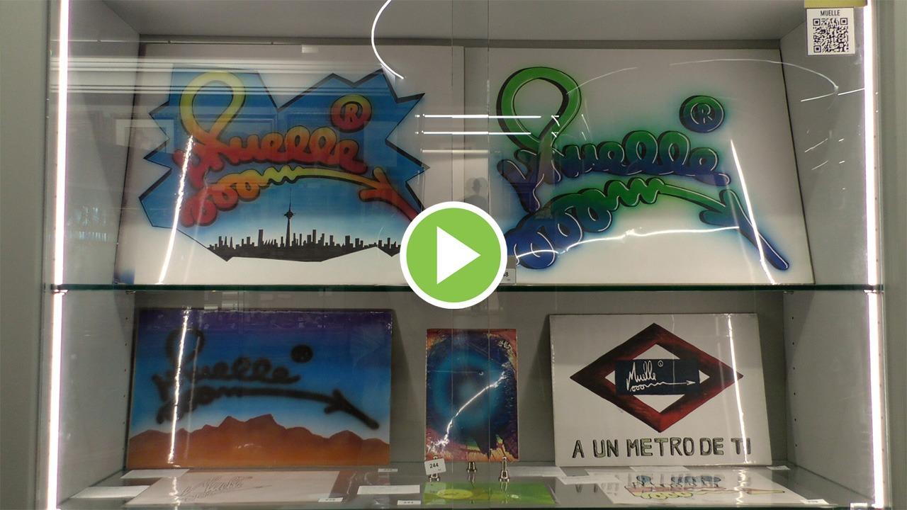 «Está Muelle y luego todo lo demás»: el grafiti sale a subasta