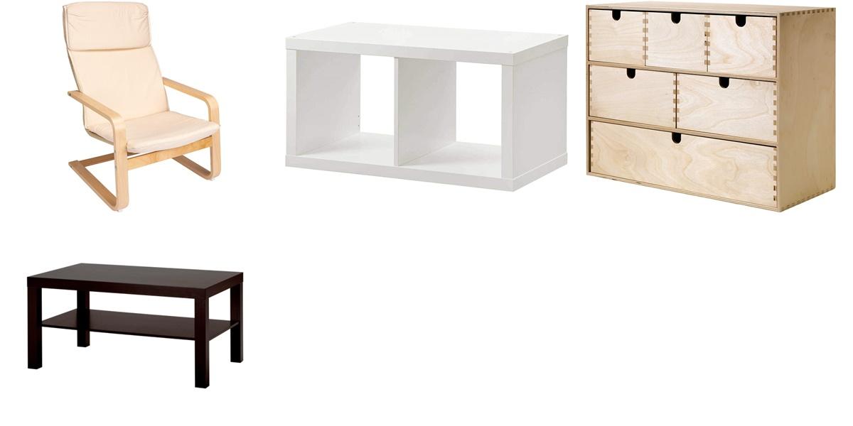 Muebles de Ikea que puedes comprar en Amazon con grandes descuentos