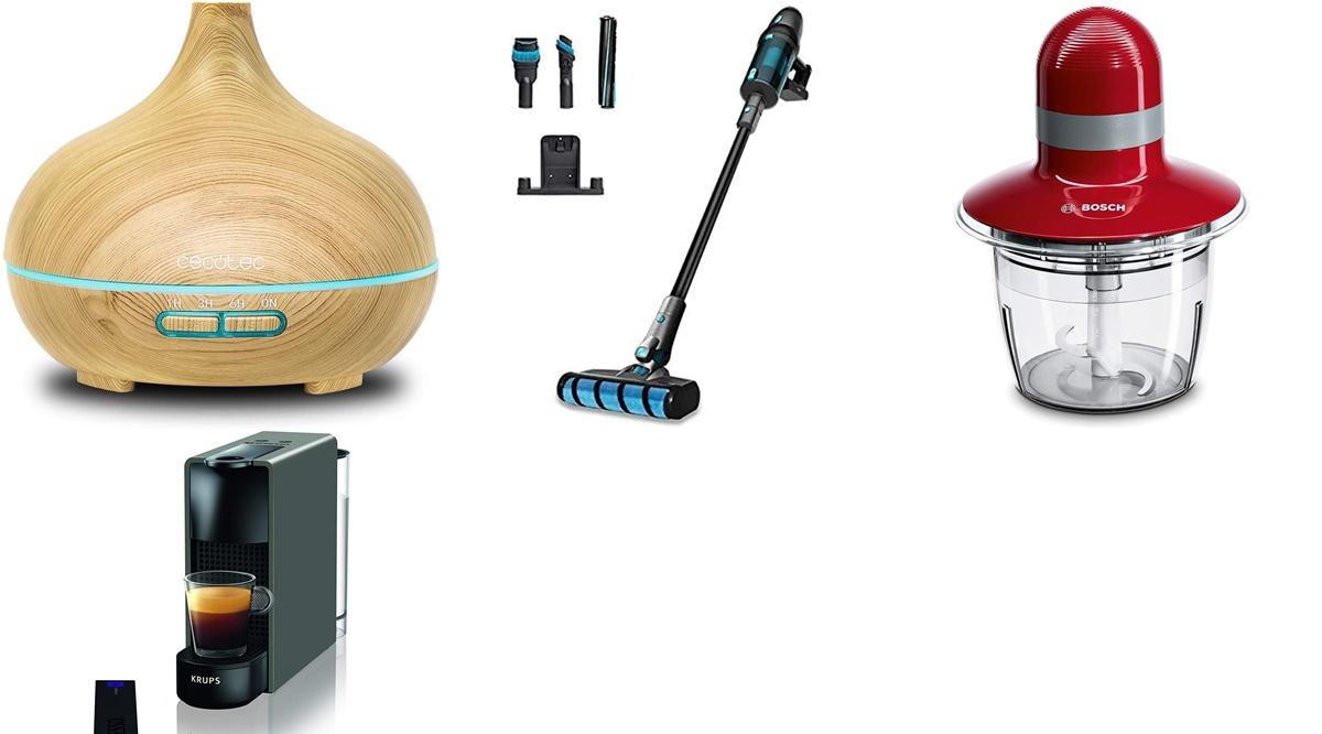 Cecotec, Krups y Bosch: 10 productos que arrasan en ventas en Amazon por sus increíbles ofertas