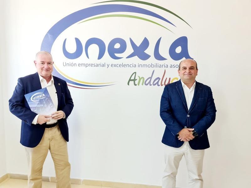 Club Notegés se suma a Unexia, patronal de empresas inmobiliarias de Andalucía