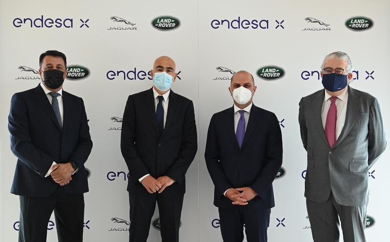 Endesa y Jaguar se alían para impulsar la movilidad eléctrica en España