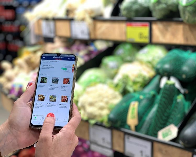 Carrefour se alía con Lola Market para ofrecer servicios de 'personal shopper online' en alimentación