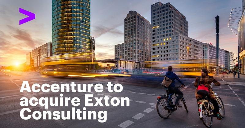Accenture alcanza un acuerdo para comprar Exton Consulting