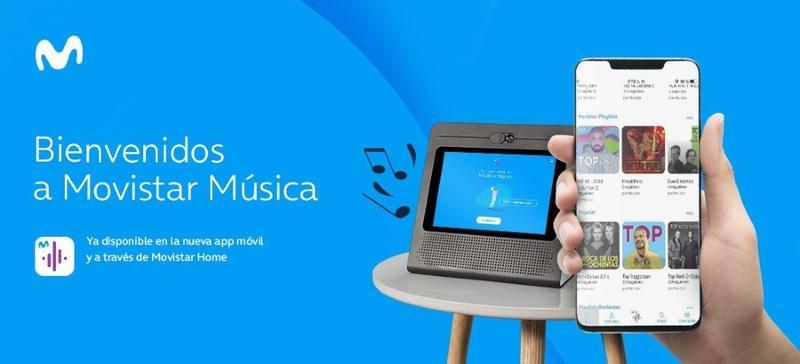 Telefónica lanza en España el servicio de streaming Movistar Música