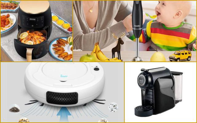 Aliexpress: batidoras, aspiradoras, y otros electrodomésticos super baratos de su web