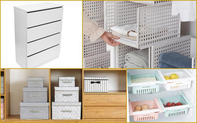 Aliexpress: los organizadores y almacenadores que cambiarán el aspecto de tu hogar