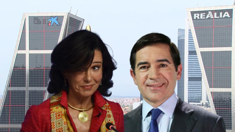 Santander vs. BBVA: batalla en España con invitado público