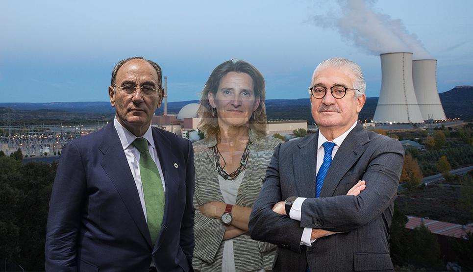 Así es la verdad nuclear de Iberdrola y Endesa con la ministra de fondo