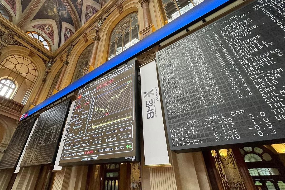 BlackRock, Norges Bank y Fidelity, los fondos extranjeros con mayor peso en el Ibex