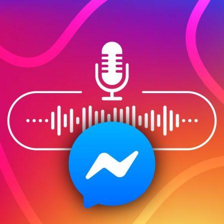 Mensajes de audio Facebook