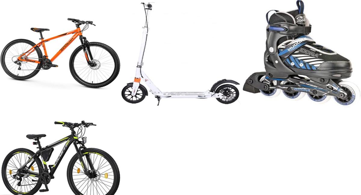 Amazon: las 10 mejores ofertas de la semana en bicicletas, patines y patinetes