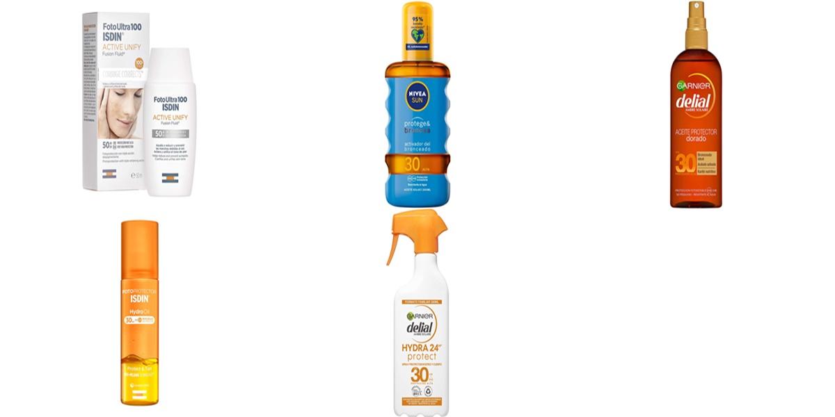 Isdin, Nivea y Garnier: packs de cremas y aceites solares con grandes descuentos en Amazon