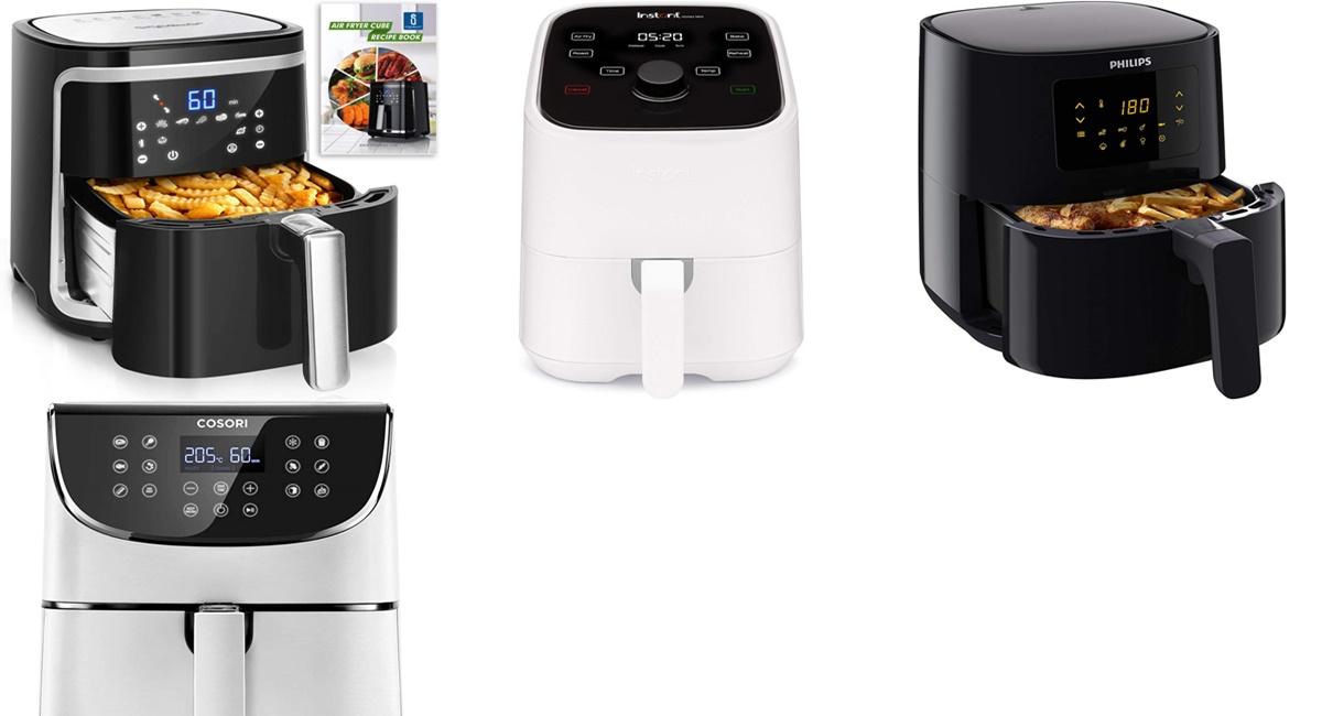 Amazon: las mejores freidoras de aire para cuidar tu alimentación