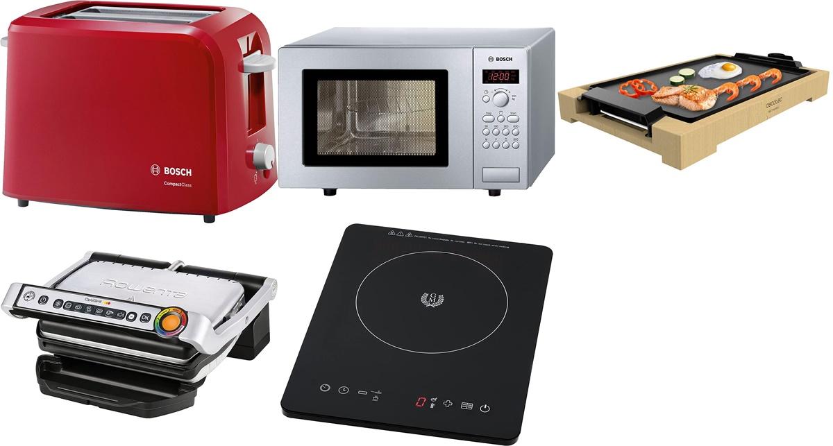 Bosch, Cecotec y Rowenta: 10 pequeños electrodomésticos a precios de ganga en Amazon ideales para minicocinas