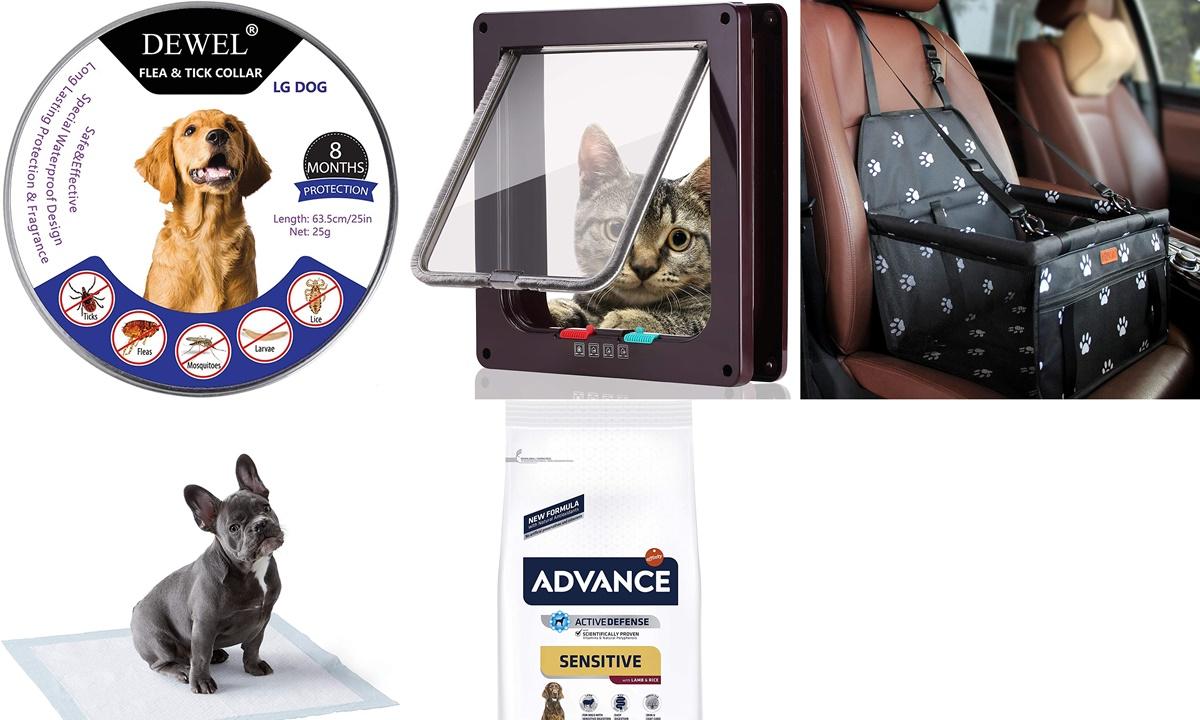Los 10 mejores productos para mascotas de Amazon Basics y más