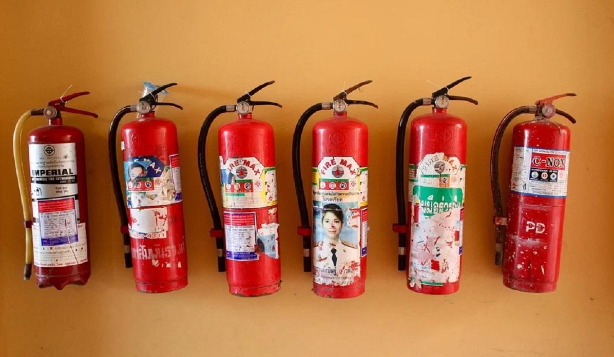 ¿Cuál es mejor extintor para tener en casa?