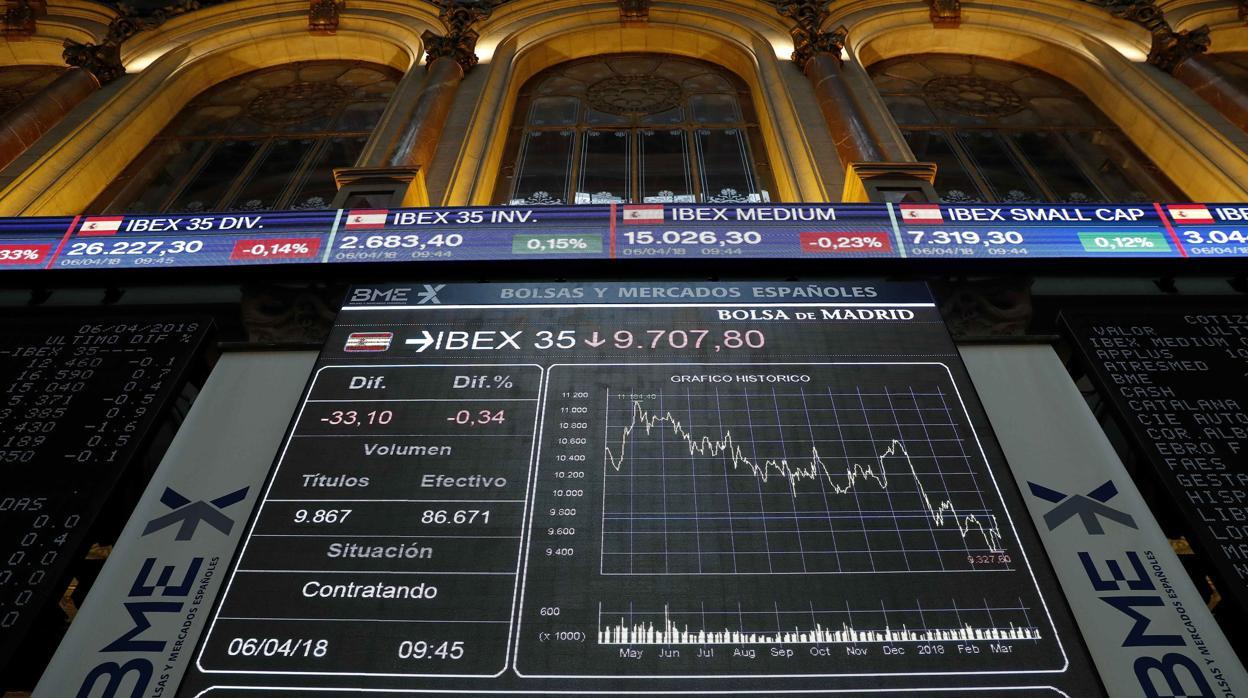 Banca, farmacéuticas y telecomunicaciones impulsan al Ibex 35 en lo que va de año