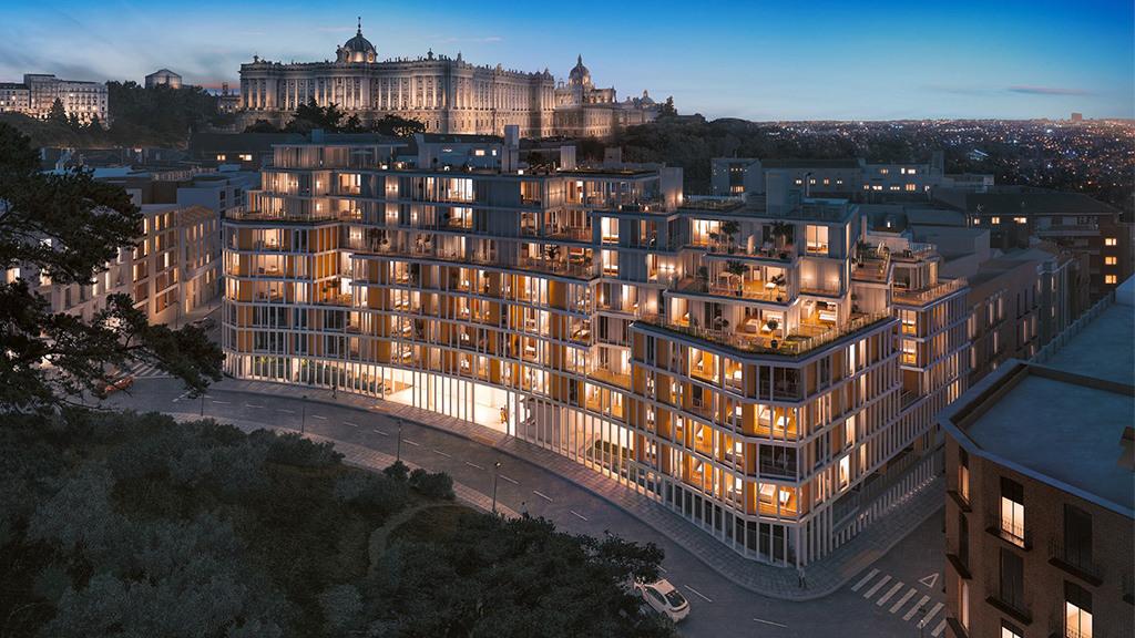 Antiguos edificios de Telefónica se convierten en residenciales de lujo