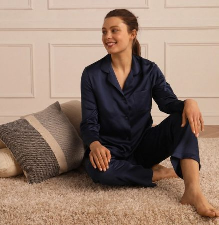 pijama satinado el corte ingles